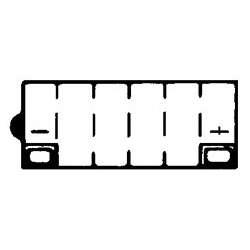 YUASA Batterie 12N7B-3A