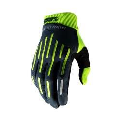 100% Ridefit gants jaune