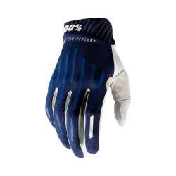 100% Ridefit gants bleu