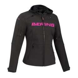 Veste Bering Drift - Noir, Fuchsia