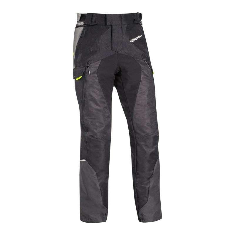 IXON BALDER Pantalon Noir-Gris-Jaune Vif
